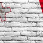 Malta Flag painted on brick wall — Stock Photo #51597835
