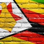 Zimbabwe Flag painted on brick wall — Stock Photo #51665951