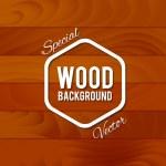 Vintage wood background — Stock Vector