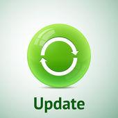 Update sign — Stock Vector