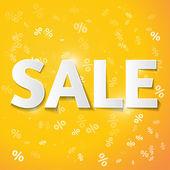 Inscription sale — Stock Vector