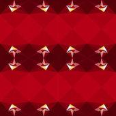 Horizontal red pattern — Wektor stockowy