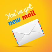 新邮件标志 — 图库矢量图片