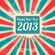 Happy New Year 2013 — Stock Vector