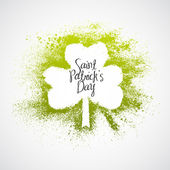St Patrick Day grunge frame — Stock Vector