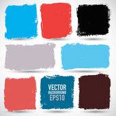 Grunge colorful backgrounds — Stock Vector