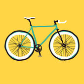 Hand drawn bicycle — Stock Vector