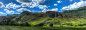 Lesotho Landscape — Stock Photo