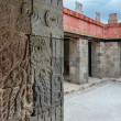 Stock Photo: Palace of Quetzalpapalotl at Teotihuacan