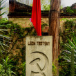 Stock Photo: Leon Trotsky Tomb