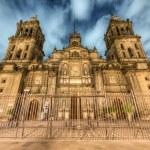 Catedral Metropolitana de la ciudad de México — Foto de Stock