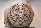 Aztec Stone of the Sun — Stock Photo