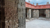 Palace of Quetzalpapalotl at Teotihuacan — Stock Photo