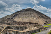 Pyramid of the Sun, Teotihuacan — Stock Photo