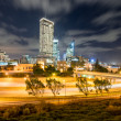 The Perth Skyline from Parliament House at Dusk — Stock Photo