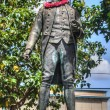 Captain James Cook Statue Kauai Hawaii — Stock Photo