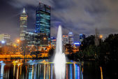 Skyline of Perth — Stock Photo