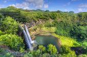 Wailua wodospadu hawajski — Zdjęcie stockowe
