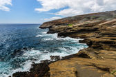 Tropical View, Lanai Lookout, Hawaii — Stock Photo