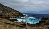 Tropical View, Lanai Lookout, Hawaii — Stock Photo