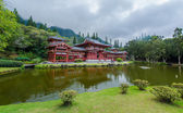 Byodo-In Temple, Valley of the Temples, Hawaii — Stock Photo