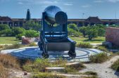 Cannon in Fort Jefferson, Florida — Foto de Stock