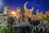 Coral Castle Moon, Miami — Stock Photo