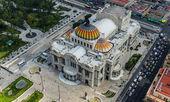 Palace Bellas Artes - Palace of FIne Arts — Stock Photo