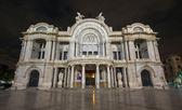 Palacio de Bellas Artes - Palace of Fine Arts, night — Stock Photo