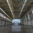 Newly Constructed Empty Warehouse Floor — Stock Photo #40881643