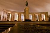 Soviet War Memorial in Berlin Tiergarten — Stock Photo
