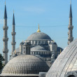 Blue Mosque as seen from Hagia Sophia — Stock Photo #40933165