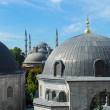 Blue Mosque as seen from Hagia Sophia — Stock Photo #40933175