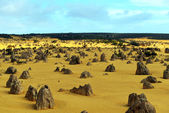 Pinnacles Desert, Australia — Stock Photo