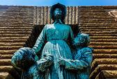 Voortrekker Woman and Children — Stock Photo