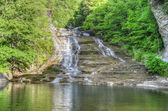 Buttermilk Falls, Finger Lakes, NY — Stock Photo
