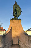 Statue of Leif Eriksson in Reykjavik, Iceland — Stock Photo