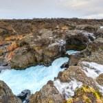 Glacial River Pool, Barnafoss, Iceland — Stock Photo #41892107