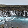 Hraunfossar Waterfall, Northwest Iceland — Stock Photo #41892353