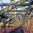 Williamsburg Bridge Walkway — Stock Photo