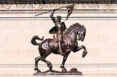 El Cid Statue — Stock Photo