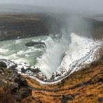 Gullfoss Waterfall, Iceland — Stock Photo