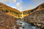 Svartifoss Water in Early Winter — Stock Photo