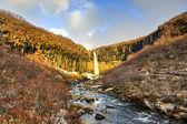 Svartifoss Water in Early Winter — Stock Photo