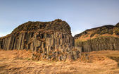 Dverghamrar Basalt Columns, Iceland — Stock Photo