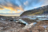 Vatnajokull Glacier Trail, Iceland — Stock Photo