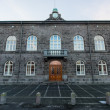 National Parliament Building, Reykjavik, Iceland — Stock Photo