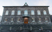 National Parliament Building, Reykjavik, Iceland — Foto Stock