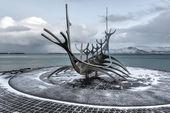 Solfar (Sun Voyager), Reykjavik — Stock Photo