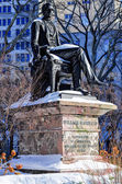 William Seward Statue, NYC — Stock Photo
